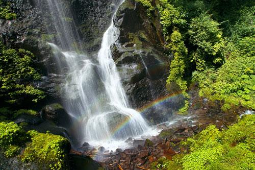 虹の裏見の滝