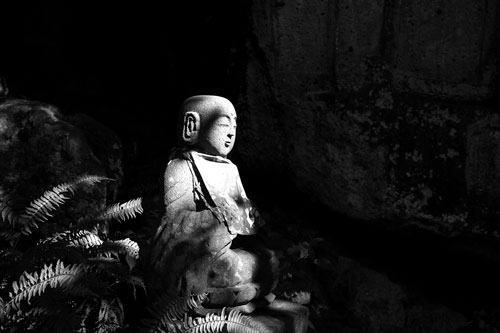 山寺の地蔵菩薩